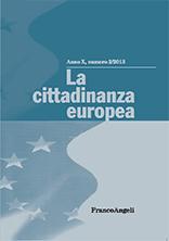 La cittadinanza europea Pubblicazioni SSIP Seminario