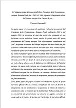 L' UE dopo la fine del secolo breve Paper Capocasale Pubblicazioni SSIP Seminario