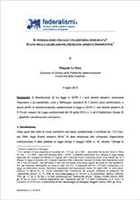 Il federalismo fiscale Lo Duca Pubblicazioni SSIP Seminario