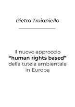 Il nuovo approccio human rights based Troianiello SSIP Seminario